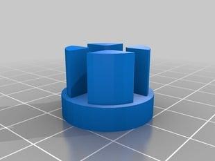Endcap Plug for Roll-up Sunshade