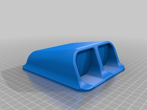 Car hood scoope V2