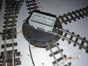 Model railway turntable