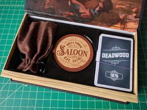 Deadwood 1876 Game Box Insert