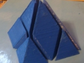 3D Tangram in Pyramid Form