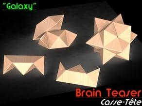"Brain Teaser (Casse-tête) ""Galaxy"""