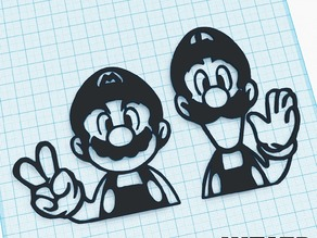 Mario & Luigi Art - We3dUK