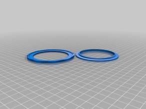 3D-Printed Screw-In Lens Filter Holder 67mm Remix