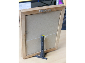 Desktop Picture Frame Easel 4X5 and 5X7