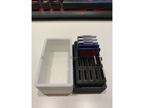 15 cards SD Card Holder