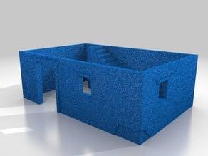 1-87 HO - Small Mud brick dwelling