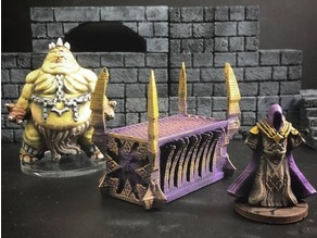 ScatterBlocks: Daemonic Altar (28mm/Heroic scale)