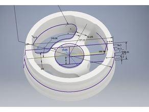 Filament Reel Roll