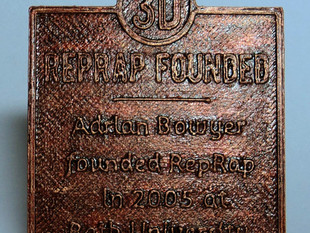 Historical Marker Template and History of 3D Printing