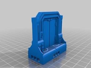 Scifi wide door for openLock