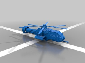 Warrior H8 Helicopter