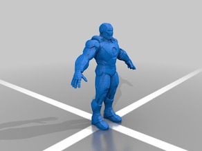 iron man model from marvel contest of champions