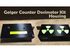 Geiger Counter Dosimeter Housing for impexeris