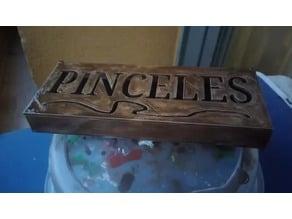 BOX PENCIL CAJA PINCELES