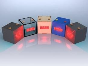 DIY Alarm Clock Laser cut & 3D print