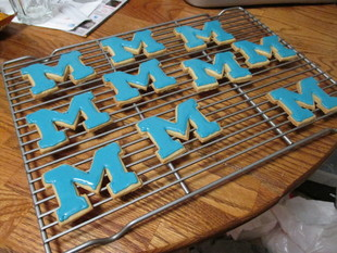 U of Michigan Cookie Cutter