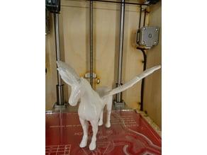 Flying Pegasus Unicorn (Repaired, Scaled, Cut)