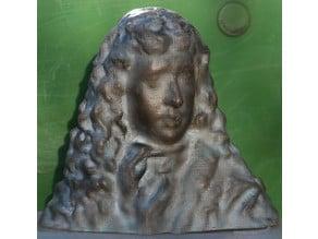 Samuel Pepys bust