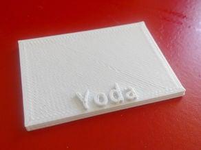 Yoda stand