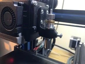 Modified Plotter/Vinyl Cutter Mount for 3D printers