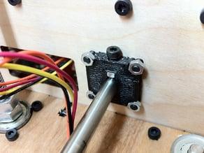 Minimalistic X-rod mount