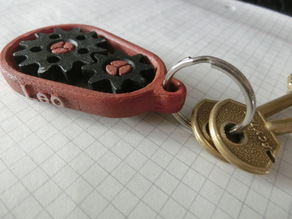 Gear Keychain