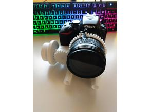 Follow3D Fully 3D printed follow focus and standard rail system
