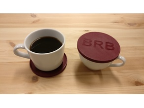 BRB Coffee Coaster / Thermo Lid