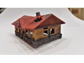Old House N-Scale