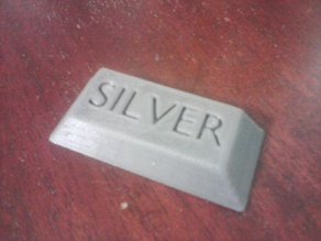 Silver and Gold Ingot