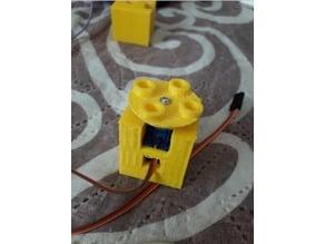 Servo Lego Duplo Block