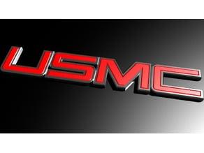 USMC GMC Tailgate Emblem
