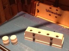 intensewalkera Vibration Dampening isolator mould - cast - template round form