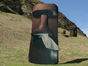 Mini Moai Kleenex Dispenser