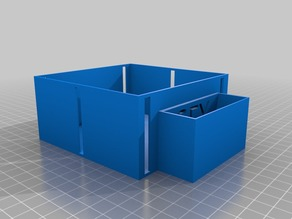 boite de transport pour cibles et plomb 4.5mm