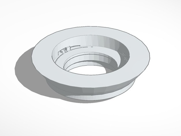 Canon FD lens to EOS M Body by 3Dgoon - Thingiverse