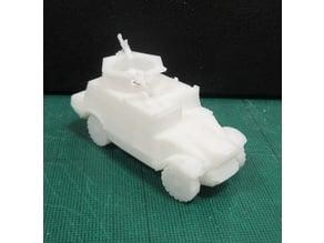 Morris CS9 Armored car WW2 1/100 scale