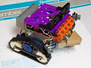 Arduino Book Case  (Printable IR proximity sensors and armor mod)