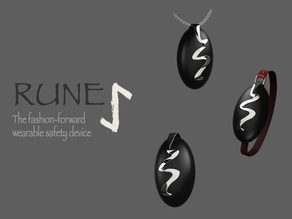 Rune: The Fashion-Forward Wearable Safety Device