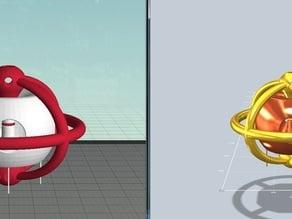 Atom Wormhole 2Colors