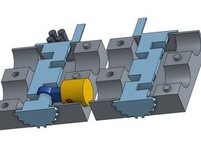 Mechanical Boxer Engine