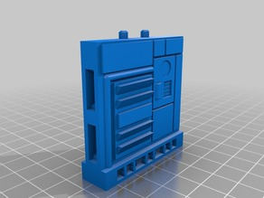 OpenLOCK Compatible Space Ship Wall