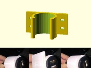 Parametric Round Clip Holder Zip Tie Version