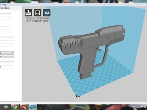 Halo M6D Magnum Pistol