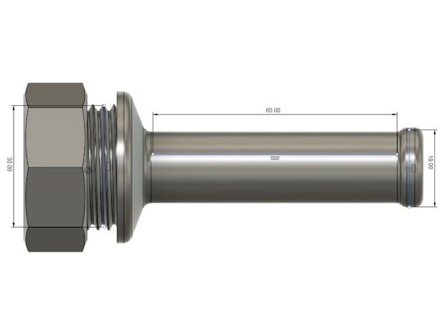 Ender 3 Small Spool Holder, 20mm Diameter Spool's 60mm Width