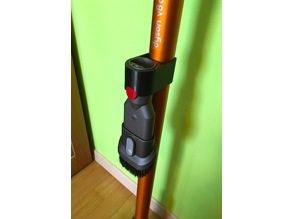 Dyson accessory holder for extension wand