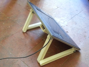 Intuos 3 A5 leg & hinge system (DIY Cintiq)