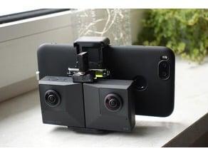 Insta360 EVO small smartphone mount holder