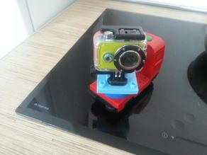 Lego Duplo camera holder brick